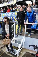 Anais Poumarat / Renaud Lavillenie / Neil McILROY - 14.12.2014 - Clermont / Munster - European Champions Cup <br /> Photo : Jean Paul Thomas / Icon Sport