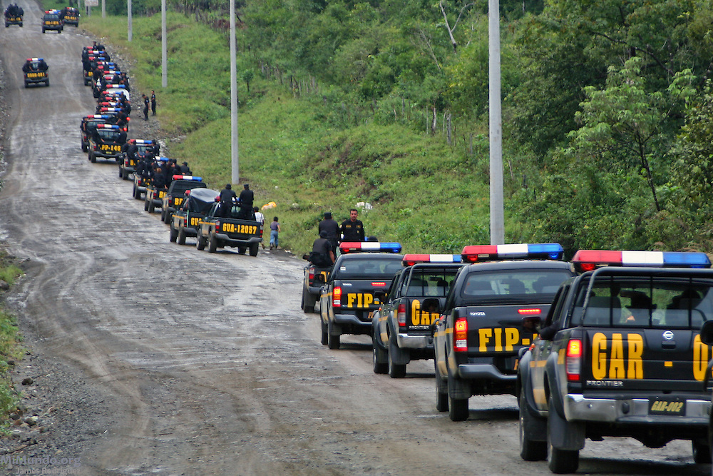 On January 8th and 9th, 2007, the Guatemalan Nickel Company, local subsidiary of Canadian Skye Resources, ordered the forced eviction of five Q'eqchi' Mayan communities around Lake Izabal in El Estor, Guatemala. Over 800 State security forces carried out the forced eviction destroying and even burning several huts in the indigenous communities who claim the territory as ancestral land.