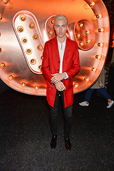 LUCKY BLUE SMITH at the Warner Music Group & Ciroc Vodka Brit Awards After Party held at The Freemason's Hall, 60 Great Queen St, London on 24th February 2016.