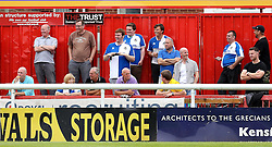 Bristol Rovers fans at the preseason friendly with Exeter City ahead of the Sky Bet League One season - Mandatory by-line: Robbie Stephenson/JMP - 16/07/2016 - FOOTBALL - St James Park - Exeter, England - Exeter City v Bristol Rovers - Pre-season friendly