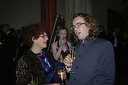 KATE GRENVILLE AND JAMIE BYNG, Drinks Reception before the Man Booker Prize 2006. Guildhall, Gresham Street, London, EC2, 10 October 2006. -DO NOT ARCHIVE-© Copyright Photograph by Dafydd Jones 66 Stockwell Park Rd. London SW9 0DA Tel 020 7733 0108 www.dafjones.com