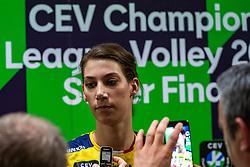 18-05-2019 GER: CEV CL Super Finals Igor Gorgonzola Novara - Imoco Volley Conegliano, Berlin<br /> Igor Gorgonzola Novara take women's title!Novara win 3-1 / Robin de Kruijf #5 of Imoco Volley Conegliano