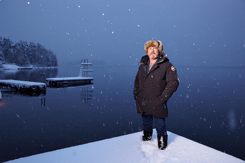 Hole, 20150120<br /> Jørn Øverby, helt fra Utøya <br /> Foto:Paul Paiewonsky / Dagbladet MAGASINET