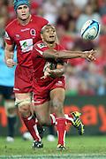 Will Genia. Queensland Reds v NSW Waratahs. Investec Super Rugby Round 10 Match, 24 April 2011. Suncorp Stadium, Brisbane, Australia. Reds won 19-15. Photo: Clay Cross / photosport.co.nz