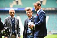 Matt DAWSON / Brian O'DRISCOLL / Jamie ROBERTS - 02.05.2015 - Clermont / Toulon - Finale European Champions Cup -Twickenham<br />Photo : Dave Winter / Icon Sport