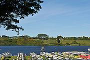 Hamilton, NEW ZEALAND.   GV's. General View. Boat Racks. 2010 World Rowing Championship on Lake Karapiro Saturday  30/10/2010. [Mandatory Credit Peter Spurrier:Intersport Images].