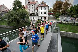Tek preko mostov Ljubljanice, on September 4, 2017 in Ljubljana, Slovenia. Photo by Urban Urbanc / Sportida