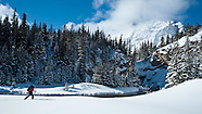Glacier Park Winter Back Country Ski Touring