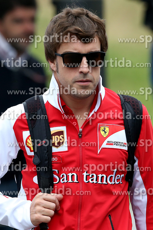 21.06.2014, Red Bull Ring, Spielberg, AUT, FIA, Formel 1, Grosser Preis von &Ouml;sterreich, Qualifying, im Bild Fernando Alonso (ESP) Ferrari. // during the qualifying of the Austrian Formula One Grand Prix at the Red Bull Ring in Spielberg, Austria on 2014/06/21. EXPA Pictures &copy; 2014, PhotoCredit: EXPA/ Sutton Images/ Boland<br /> <br /> *****ATTENTION - for AUT, SLO, CRO, SRB, BIH, MAZ only*****