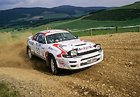 Mobil 1/RAC British Rally Championship 1997. RSAC Scottish Rally. Jonny Milner/Steve Turvey. Toyota Celica GT4. World Copyright: Peter Taylor/PSP. Copy of publication required for printed pictures. Every used picture is fee-liable..