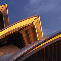 Sydney Opera House roof line detail