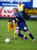 Fotball, 13. mai 2003, NM fotball herrer, Strømsgodset-Bærum, Petter larsen, Strømsgodset