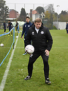 RSC Anderlecht Training and Press Conference - 16 Nov 2017