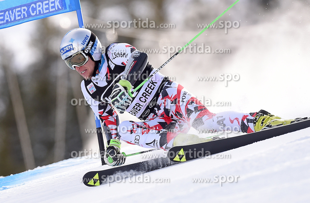 06.12.2015, Birds of Prey Course, Beaver Creek, USA, FIS Weltcup Ski Alpin, Beaver Creek, Riesenslalom, Herren, 1. Lauf, im Bild Christoph Noesig (AUT) // Christoph Noesig of Austria during the first run of mens Giant Slalom of the Beaver Creek FIS Ski Alpine World Cup at the Birds of Prey Course in Beaver Creek, United States on 2015/12/06. EXPA Pictures © 2015, PhotoCredit: EXPA/ Erich Spiess