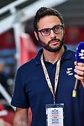 Mario Castelli<br /> Vanoli Cremona - Happycasa Brindisi<br /> Finale 3° Posto Zurich Connect Supercoppa LBA 2019<br /> Bari, 22/09/2019<br /> Foto L.Canu / Ciamillo-Castoria