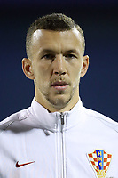 ZAGREB, CROATIA - NOVEMBER 09: Portrait of Ivan Perisic of Croatia during the FIFA 2018 World Cup Qualifier play-off first leg match between Croatia and Greece at Maksimir Stadium on November 9, 2017 in Zagreb, Croatia. (Goran Stanzl/PIXSELL)