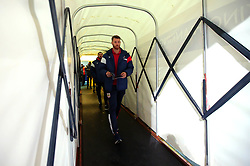 Nathan Baker of Bristol City arrives at the Macron Stadium ahead of the fixture with Bolton Wanderers - Mandatory by-line: Robbie Stephenson/JMP - 02/02/2018 - FOOTBALL - Macron Stadium - Bolton, England - Bolton Wanderers v Bristol City - Sky Bet Championship