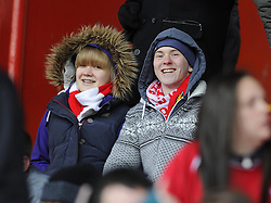 Bristol City Fans - Photo mandatory by-line: Joe Meredith/JMP - Tel: Mobile: 07966 386802 01/04/2013 - SPORT - FOOTBALL - Ashton Gate - Bristol -  Bristol City V Sheffield Wednesday - Npower Championship