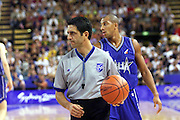 Olimpiadi Sydney 2000<br /> Italia - Usa<br /> Nella foto: Arbitro