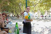 le cafe, outdoor restaurant, Saint-Tropez, France