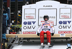 Robert Kranjec (SLO) at Flying Hill Individual in 2nd day of 32nd World Cup Competition of FIS World Cup Ski Jumping Final in Planica, Slovenia, on March 20, 2009. (Photo by Vid Ponikvar / Sportida)