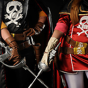Vencedores eliminat&oacute;ria WCS World Cosplay Summit. Etapa Mercado Mundo Mix.<br /> <br /> Alessandra Fernandes <br /> Capit&atilde;o Harlock<br /> 21_2622-8532<br /> <br /> Petra Le&atilde;o<br /> Queen Emeraldas / Space Captain Harlock<br /> 21_2622-8532