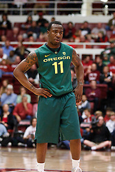 January 27, 2011; Stanford, CA, USA;  Oregon Ducks guard Malcolm Armstead (11) before a free throw against the Stanford Cardinal during the first half at Maples Pavilion.  Oregon defeated Stanford 67-59.