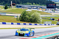 09.06.2017, Red Bull Ring, Spielberg, AUT, ADAC GT Masters, Spielberg, Training, im Bild Dennis Busch (GER)/Marc Busch (GER) Twin Busch Motorsport // German ADAC GT Masters driver Dennis Busch/German ADAC GT Masters driver Marc Busch of Twin Busch Motorsport during the practice for ADAC GT Masters at the Red Bull Ring in Spielberg, Austria on 2017/06/09. EXPA Pictures © 2017, PhotoCredit: EXPA/ Dominik Angerer