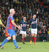 Charlie Adam celebrates after scoring for Dundee - Crystal Palace v Dundee - Julian Speroni testimonial match at Selhurst Park<br /> <br />  - © David Young - www.davidyoungphoto.co.uk - email: davidyoungphoto@gmail.com