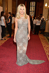 MOLLIE KING at the LDNY Fashion Show and WIE Award Gala sponsored by Maserati held at The Goldsmith's Hall, Foster Lane, City of London on 27th April 2015.