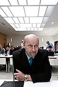 Wiesbaden | 11 May 2015<br /> <br /> NSU Untersuchungsausschuss Hessischer Landtag, 20. Sitzungstag, hier: Verfassungsschutz-Mitarbeiter vor seiner Aussage.<br /> <br /> &copy;peter-juelich.com<br /> <br /> [Foto honorarpflichtig | Fees Apply | No Model Release | No Property Release]