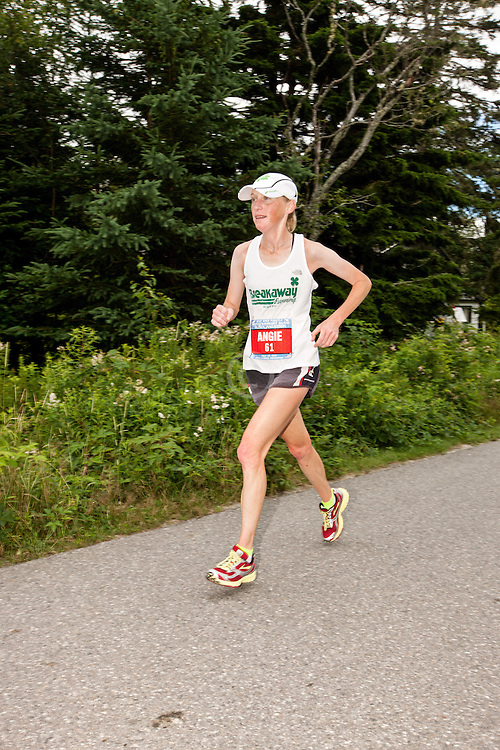 Great Cranberry Island Ultra 50K road race: Angie