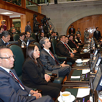Toluca, México.- Sesión de apertura del Séptimo Periodo Ordinario de Sesiones de la LVIII Legislatura mexiquense.  Agencia MVT / José Hernández