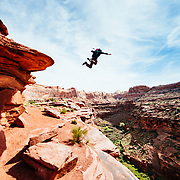 Diving board in Moab, UT
