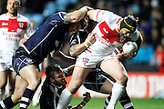 England's Chris Hill (8 Warrington Wolves) during the Ladbrokes Four Nations match between England and Scotland at the Ricoh Arena, Coventry, England on 5 November 2016. Photo by Craig Galloway.