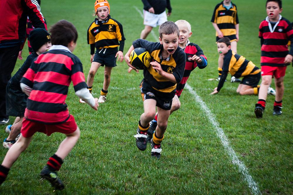 Marcos rugby game: Kilbirne Park, 14 July 2012. .Photo by Mark Tantrum | www.marktantrum.com