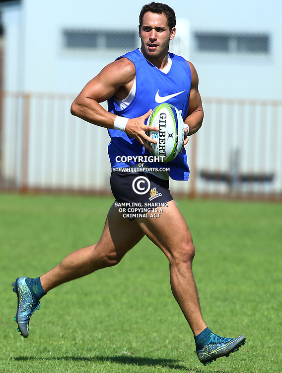 Cape Town, SOUTH AFRICA,  12, February  2016 - Joaqu&iacute;n Tuculet during the Captain Run for The Jaguares at City Park Newlands Rugby Stadium Cape Town, South Africa. (Photo by Steve Haag)<br /> <br /> Images for social media must have consent from Steve Haag
