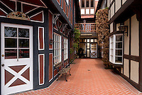 Danish Half-Timbered Houses, Solvang, California