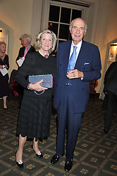 LORD & LADY FAIRHAVEN at a private view of The Secret Garden and A Little Princess an exhibition of original watercolours by Graham Rust held at St.Wilfrid's Hall, The Brompton Oratory, London on 2nd October 2012.