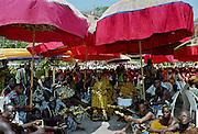 Ashanti chief at Durbar of tribal chiefs in Accra, Ghana