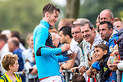 UITGEEST - 09-07-2016, AZ - FC Volendam, Complex FC Uitgeest, 8-1, AZ speler Wout Weghorst