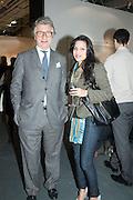 ARNAUD BAMBERGER; SHELINA BEGUM, Art13 London First night, Olympia Grand Hall, London. 28 February 2013