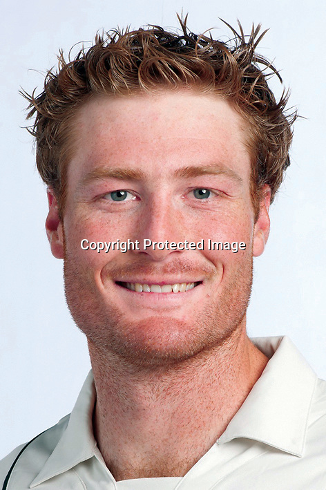 Martin Guptill, New Zealand Black Caps cricket headshots. 2011/12 season. Photo: NZ Cricket