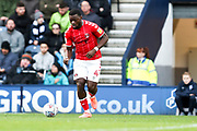 Charlton Athletic defender Adedeji Oshilaja (4) in action during the EFL Sky Bet Championship match between Preston North End and Charlton Athletic at Deepdale, Preston, England on 18 January 2020.