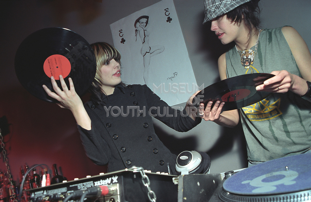 FemaleFemale DJs Queens of Noize holding records, UK 2000's