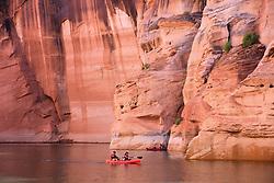 Red Canoe, Lake Powell, Utah - Arizona, USA