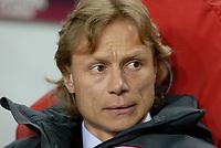 Football - Europa League Round of 16 - Ajax v Spartak Moscow <br />Spartak coach Valeriy Karpin.