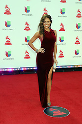 2018 Latin Grammy Awards MGM Grand Garden Arena MGM Grand Resort & Casino Las Vegas, Nv November 15, 2018. 15 Nov 2018 Pictured: Pamela Silva Conde. Photo credit: KWKC/MEGA TheMegaAgency.com +1 888 505 6342