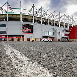 Riverside Stadium on a winter morning ahead of the premier league match. Middlesborough v Manchester United, Barclays English Premier League, 19th March 2017. (c) Paul Cram | SportPix