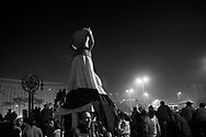 Thousands of Egyptians demonstrators gather on Tahir Square in Cairo to claim removal of president Hosni Mubarak. 01 February 2011.